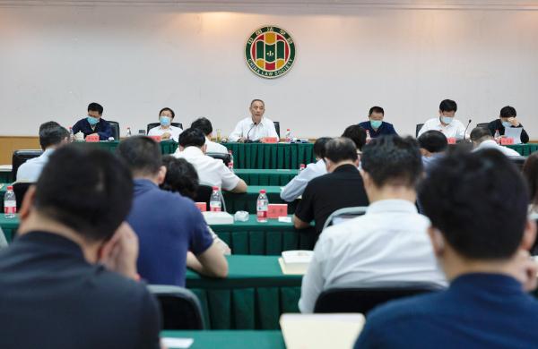 中国法学会召开党组理论学习中心组学习(扩大)会专题学习《习近